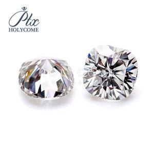 laboratoire de haute qualité créé taille coussin 9.5x9.5 mm 5ct diamant moissanite pour jewely