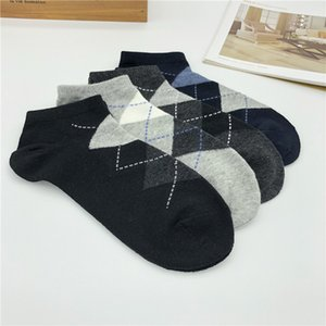 20ss Fashion Mens Sport Sock Mens High Quality Short Sock Cotton Blend Comfortable Teenagers Gray Socks Student Underwear One Size