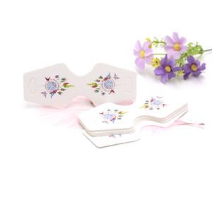 Multi style Accessoires cheveux bricolage carte d'emballage pour boucles d'oreilles Accessoires Affichage Bijoux Emballage Emballage Custom Card