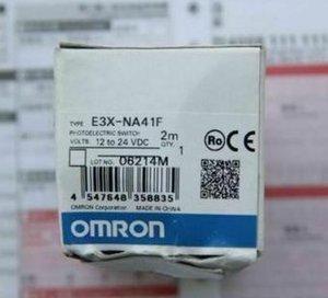 Оригинальный фотоэлектрический датчик Omron E3X-NA41F 2M (E3XNA41F2M) Бесплатная ускоренная доставка Новый в коробке