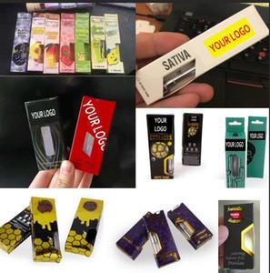 Embalagem livre da caixa do logotipo personalizado vape para todo o tipo de Cartuchos no mercado Électronique de cigarro Latão Kingpen 92A3 Liberty Hitters Pesados