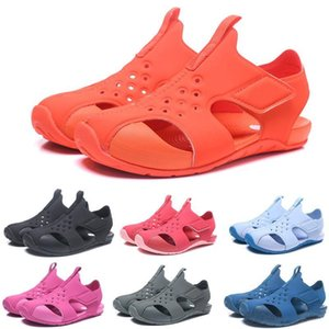 taglia 22-35 2020 NEW Estate Raggio di sole di ghiaccio fresco sandalo bambini scarpe ragazzo ragazza giovane ragazzo scarpe sandalo