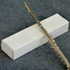 PEARL FL-665 17 agujeros abiertos C Tune flauta alta calidad de cobre-níquel plateado plata del cuerpo del instrumento musical ES Referencias Flauta con la caja de accesorios
