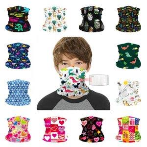 Máscara crianças Windproof face Outono Inverno manter aquecido máscaras lenço Crianças Multi-Purpose Neck Gaiter Bandana lenço Máscaras