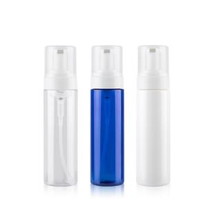 200ML Белый / Прозрачный / синий Пенопласт бутылки бутылки многоразового Вспенивание насос Пакет мыло Mouss Liquid диспенсер Контейнер оптом