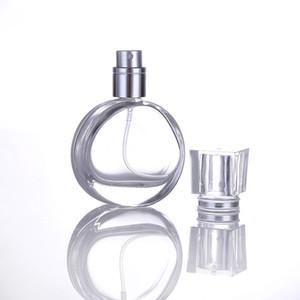 Taşınabilir 25ml Parfüm Sprey Şişeleri Kozmetik Konteynerleri Kokular Cam Pompa Püskürtme Şişeler DHL boşalt boşalt