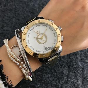 2019 роскошные модные женские женские модные кварцевые часы big bang hot sale crystal dial модные кварцевые мужские часы ремешок PANDORA watch
