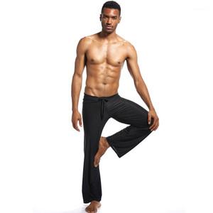 Up Straight Сыпучие Фитнес Йога Брюки Мужчины Повседневная Брюки мужские сплошной цвет Спортивные штаны Lace