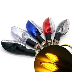 Vuelta de la motocicleta Asamblea de señal LED de iluminación de la motocicleta 12V Modificado vuelta de la motocicleta luz al por mayor Dirección de la luz