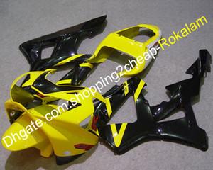 CBR900RR 2000 2001 carenatura moto per Honda 929 CBR929RR 00 01 CBR 929RR 900RR Kit da cravatto nero giallo (stampaggio a iniezione)