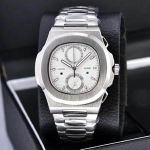 nuovi 2020 Orologi Cronografo Cronometro Orologi fresco mens impermeabile da polso Calendario VK64 Fashion Business Men Orologi da polso
