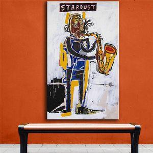 Jean Michel Basquiat Stardust Graffiti,HD Canvas Printing New Home Decoration Art Painting (Unframed Framed)