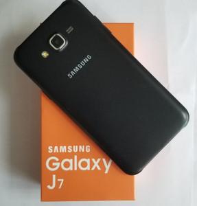 تم تجديده الأصلي سامسونج غالاكسي J7 J700F المزدوج سيم 5.5 بوصة الثماني الأساسية 1.5GB RAM 16GB ROM 4G LTE مقفلة الهاتف DHL