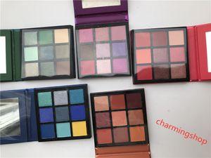 Горячая продажа Косметика H Brand Beauty Palette 9 цвет мини палитра теней для век 5 Стиль звезды цвета Eyeshadow DHL доставка