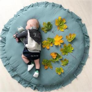 Juego de bebé Mats INS juego sólido del cordón de la alfombra recién nacido Suba Pads niños arrastramiento Mats niño alfombra Niños Niñas Peuter Juguetes Mantas C7034