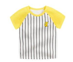 Fashion Cotton Spaceship Boys Girls T-Shirts Cartoon Print T shirts Baby Child Tops Clothing Tee Kids Clothing