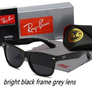 2020 New Ray Sunglasses Vintage Pilot Brand Sun Glasses Band Polarized UV400 Bans Men Women Ben Sunglasses With Box and Case #140