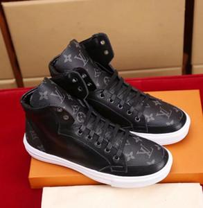 2019 nouveaux hommes chaussures entièrement rembourrés pour hommes Neon Triple Black Carbon Grey Sunset Sneakers en cuir véritable hommes Casua chaussures sans boîte