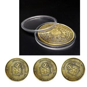 3pcs Tableau Pièce commémorative Tarot Divination Collection Arts Cadeaux Souvenir