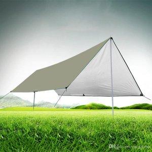 Wasserdicht Isomatte 3 * 4M Matratze im Freienzelt-Tuch-Multifunktions-Markise Tarps Canopy Picknick-Matte Bodenmatten