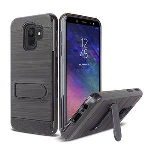 ТПУ + ПК Гибридный чехол Kickstand Impact Armor для Samsung Galaxy J3 J5 J7 2017 J1 Mini J2 Prime Крышка с держателем слота для карт памяти