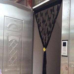 Moderna Blackout cortinas para la sala de estar Dormitorio de Windows tul cortinas empalme algodón y lino Tela