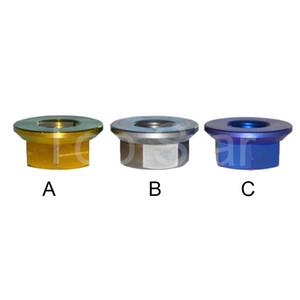 M4 M5 M6 M8 M10 M12 DIN6923 titane Bride Couleur titane hexagonal avec Plastic antidérapage
