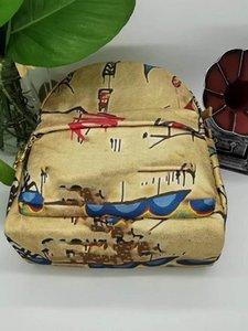 Дизайнер-рюкзаки холст материал высокое качество C рюкзак дизайнер роскошные сумки кошельки рюкзак женщины дизайнерские сумки