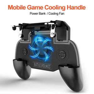 Fanlar oyunu telefonunu soğutma Cep Telefonu joystick telefonu oyunu ısı alıcı şarj güç banka standı 2000mAh PUBG Gamepad