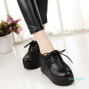 Women Sneakers 2020 New Fashion Women Casual Shoes Trends In Female Flats Platform Spring Autumn Lace Up Shoes Size 35-40 z07