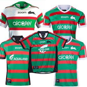 2019 2020 사우스 시드니 Rabbitohs 홈 ANZAC 럭비 유니폼 국가 럭비 리그 성인 저지 2020 2021 시드니 토끼 럭비 저지