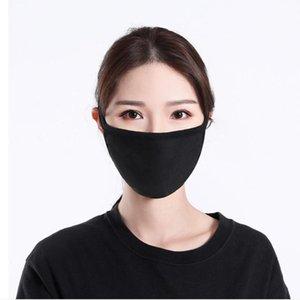 القطن قناع الوجه أقنعة الكلاسيكية الفم قابل للغسل قابلة لإعادة الاستخدام الغبار القماش قناع الكبار واقية المنتجات YYA198