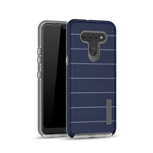 For LG K51 Stylo 6 Phone Case Good Quality Anti-fall 2 in 1 TPU+PC Case for Samsung S10 5G Protective Shell for Moto G Stylus
