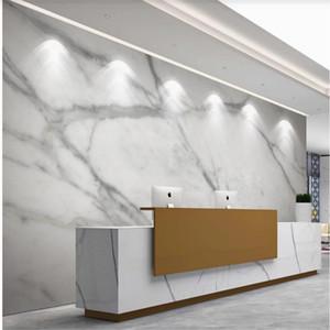 Custom wallpaper for walls 3 d for living room Gray marble wallpapers