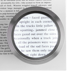 5X Desktop Cylinder K9 Magnifier Lens Tool Magnifying Glass with 3 LED Lights for Antique Viewing Reading Jewelry Identification