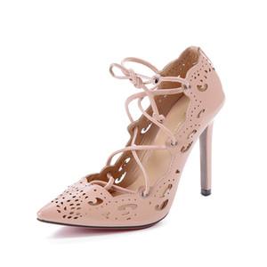 Fashion Red Bottom High Heels Office Plus Size Zapatos Sapato Feminino Pumps Women Shoes Black Wedding Dress Party Ladies Shoes