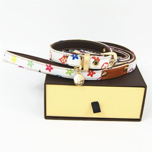 Free shipping dog collar leash set pet collars Classic brand pet accessories hot sale