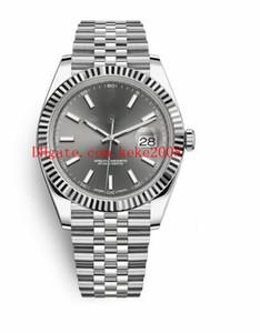 9 cores best-seller Relógios De Pulso de boa qualidade Datejust 126334 126333 126333 41mm Aço Inoxidável Ásia 2813 Movimento Automático Mens Relógios