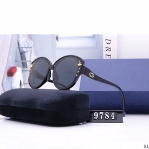 Round Sunglasses For Women Driving Sunglass Fashion Womens Bee Popular Sun Glasses Rivet Ladies Cat Eye Big Frame 2020