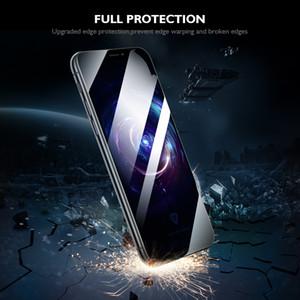 9H completa Glue protetor de tela para Samsung J1 / J2 / J2 PRIME / J2 2017 / J3 / J3 PRO / J4 2018 / J6 PLUS / J5 / J5 NÚCLEO completa Glue Instalação Fácil