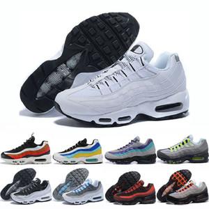Eur 36-46 ayakkabı erkekler kadınlar Yastık Sneakers Boots Otantik neon üçlü siyah yeşil, sarı Yürüyüş Doğa Sporları Koşu Ayakkabıları Moda 20
