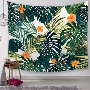 schöne dschungel blume tapisserie tropische blumen wandbehang dekoration tuch bauernhaus schlafsaal raumdekor pflanze tenture wandbild