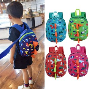 NoEnName-Null Kids Safety Harness Leash Anti Lost Backpack Strap Bag Mochila escolar para niños pequeños