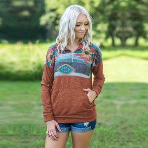 Frauen Frauen Luxus Tops Drucken Designer Sweatshirts Tshirts Tshirts Autumn Sweatshirts 10 Lose Designer Langarm S Sweatshirt S TTFV