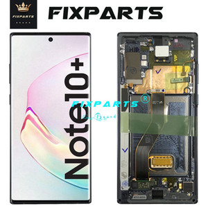 """6.8 """"삼성 갤럭시 노트 10 플러스 NOTE10 + S10 S10 5G S20U LCD 디스플레이 터치 스크린 디지타이저 조립 장치 삼성 전자 10 + N9750 LCD"""