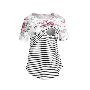 2019 HOT SALE Brand New Maternity Pregnancy Clothes Breastfeeding T-shirt For Pregnant Womens Nursing Top Cotton