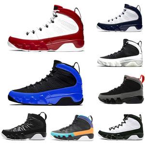 New Gym Red Racer Bleu Citrus 9 IX 9s mens chaussures de basket-ball du rêve une réalité UNC LA Oreo jam espace Bred hommes sport Chaussures de sport