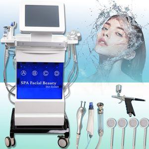 hydrafacial Hydro microdermabrasion ultrasonic skin care reduvenation beauty equipmnent BIO RF paking dermabrasion diamond skin peeling
