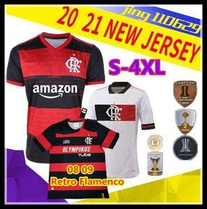 S-4XL 08 09 Retro flamengo GUERRERO DIEGO HENRIQUE GABRIEL Sport Fußball-Trikots 2020 2021 Brasilien Flamenco Fußball Trikot
