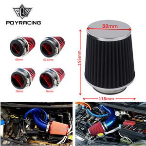 Carro Universal de alta fluxo de entrada de ar frio sistema de admissão de ar cabeça de cogumelo filtro de ar pescoço 76mm / 70mm / 63.5mm / 60mm PQY-AIT24